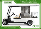 EXCAR Aluminum 2 Seats Food Golf Cart With ADC Motor PC Windshield