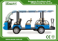 China 11 Seats Electric Sightseeing Bus 4 Wheel Electric Shuttle Car company