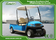 Blue M1H2 Electric Utility Carts Transport Golf Utility Cart With Graziano Axle