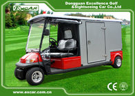 China EXCAR A1H2 / EC Emergency Golf Carts With Closed Cargo Bed Aluminum Chassis factory