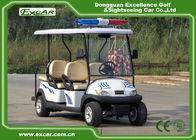 China CE Approved White Electric Patrol Car 6 Person Electric Police Car company
