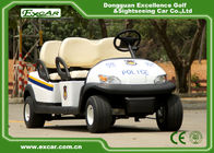 China EXCAR Open Roof Police Electric Patrol Car With Trojan Battery factory