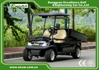 A1H2 Black Cargo Freight Electric Utility Carts battery powered utility vehicles