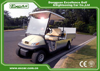 China 23km / H Or 45km / H Golf Cart Utility Vehicles With Cargo Box factory