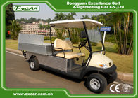China Acim Motor Utility Golf Carts 205 / 50 - 10 Tyre With Rear Container factory