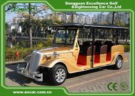 China Golden 6 Person Electric Classic Cars 48V Trojan Battery Retro Golf Cart factory