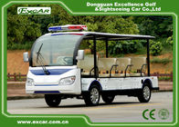 China White Electric Sightseeing Car 11 Seats Electric Tourist Car 72V Acim Motor factory
