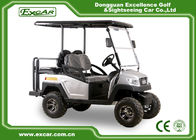 Silver EXCAR 48 Voltage 275A Electric Golf Car 4 Wheel Electric Golf Cart