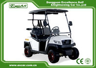 China 48V Trojan Battery Electric Golf Carts 2 Seater White Club Car Electric Golf Car factory