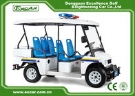 China White 5 Seater Battery powered Electric Patrol Car 5KW 72V factory