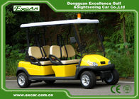 Aluminium 4 Seats ADC 48V 3.7KW Electric Patrol Car / Electric Cruise Vehicle