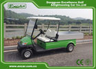 China CE Approved Green 48V Trojan Hotel Buggy Car , 2 Seats Electric Utility Golf Carts factory