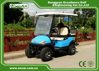 China Powerful Four Person Electric Hunting Carts , Beach Utility Golf Cart factory