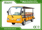 China Fashion 14 Person Electric Sightseeing Bus , Max forward speed 45km/h factory