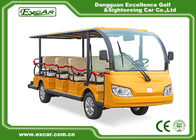 China Battery Operated Electric Passenger Bus USA curties controller 350A factory