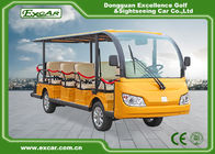 China FR / disc RR / Drum 14 Seater Electric Sightseeing Bus With Sofa Chair factory