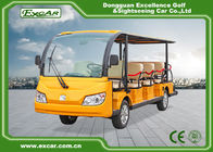 China Small Electric Shuttle Bus With Roof & Windshield For Large Parks Playground factory