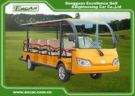 China Mini Electric Tourist Bus With Four Wheels Hydraulic Braking System factory