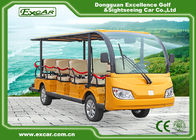 China Environmentally Friendly Gasoline Golf Cart , Electric Tourist Bus For Resort factory