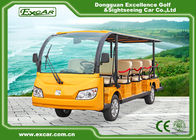 China 14 Person Electric Sightseeing Car With USA Curties Controller 350A factory