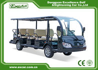 China 100% Waterproof Electric Sightseeing Cart For 14 Passenger AC system factory