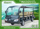 Cool 14 Seats Electric Sightseeing Vehicle Tour Bus 1 Year Warranty