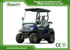 China Four Wheel Fuel Type 48 Volt Electric Golf Carts 2 Seater , Charging Time 8-10 Hours factory