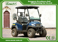 China Aluminum Chassis Four Wheel Drive Small Golf Cart For Two Person factory