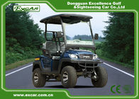 China EXCAR 2 Seater Small Electric Buggy Golf Cart With PC Windshield factory