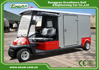 China 2 Seater 48v Electric Ambulance Golf Cart With Rain Cover Waterproof factory