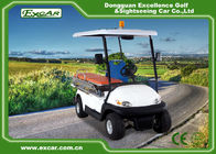 CE Approved Electric Ambulance Car 2 Seats 3.7KW Motor Ambulance Golf Cart