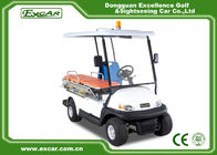 EXCAR 2 Seat Hospital Electric Ambulance Car 3.7KW 48V Trojan Battery Ambulance Car
