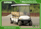 China Electric Club Car Golf Cart 8 Passenger 48v 3.7kw With Trojan Battery factory