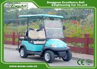 White 4 seater Electric Golf Buggy 48V 3.7KW With 1 Year Warranty