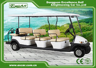 48V 3.7KW 11 Person Electric Shuttle Bus , Max. Forward Speed 45km/h