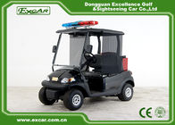 China Black 48v 2 Seater Trojan Battery Electric Golf Car With Extinguisher Fire Truck factory