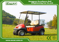 China Small 48V Double Seater Electric Golf Car With 3.7KM AC Motor factory