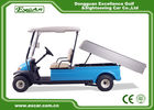 48V 3.7KW 2 Seater Electric Golf Carts Taly Axle / Hotel Buggy Car
