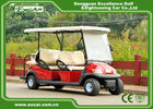 China 48V 6 Seater Electrical Golf Car 350A Controller / Golf Buggy Car With Rain Cover factory