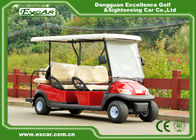 48V 6 Seater Electrical Golf Car 350A Controller / Golf Buggy Car With Rain Cover