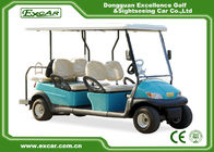 China Trojan battery 6 Seats ADC 48V 3.7KW Electric golf Car cheap golf cart for sale factory