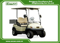 China 2 Seater AC Motor Electric Golf Car 48v Trojan Battery , Electric Hotel Buggy Car factory