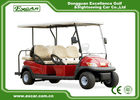 China 6 Seats ADC 48V 3.7KW Club Car Golf Cart With American Trojan Battery factory
