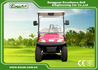 China Pink Open Cargo Trojan Battery Electric Golf Vehicle Curtis Controller 3700W factory