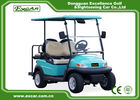 Front / Rear 4 Seats Electric Golf Carts , Battery Powered Electric Caddy Carts