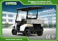 EEC 2 Passenger Electric Golf Carts , Motorized Golf Buggy With ADC 3.7kw Motor