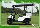 EEC Approved Electric Golf Carts / White Plastic 5KW AC Golf Buggy Car