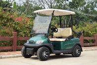 2 Passenger Electric Club Car Golf Buggy Green Color 2900*1200*1700mm