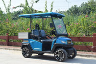 Fuel Type Electric Golf Vehicle  / 2 Seater Golf Buggy 1 Year Warranty