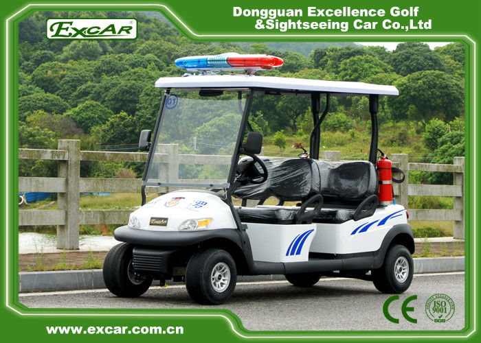 3 7kw 48v Battery Electric Security Patrol Vehicles Green
